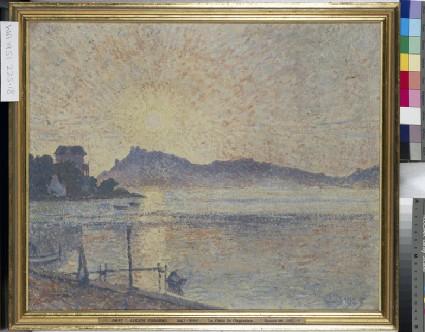 La Pointe de Cougoussa, Sunset