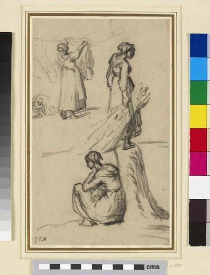 Studies of three women