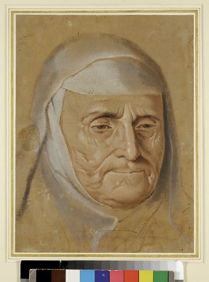Head Study of an Abbess