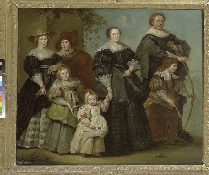 Portrait of the Artist (Cornelis de Vos) with his Wife Suzanne Cock and their Children