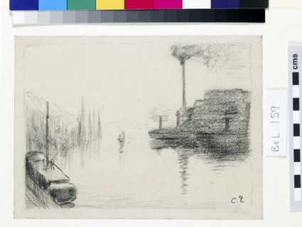 Study of the Ile Lacroix at Rouen