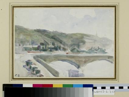 Study of the Pont Corneille, Rouen