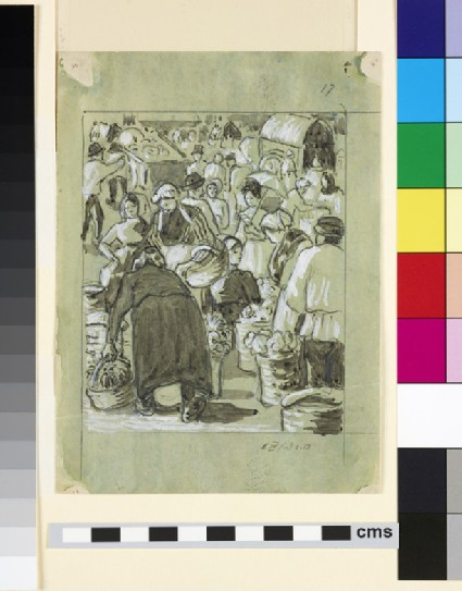 Compositional study of a market
