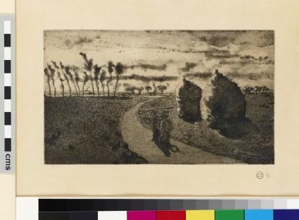 Crépuscule (avec Meules) (Twilight with Haystacks)