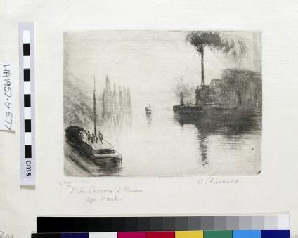 L'Ile Lacroix, à Rouen