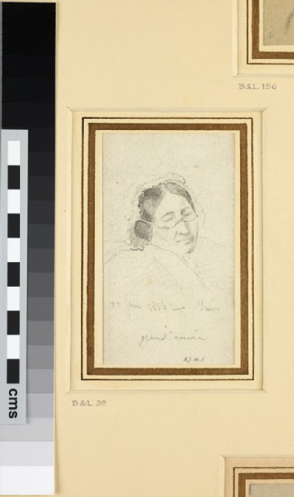 Portrait of the artist's mother, Rachel Pissarro
