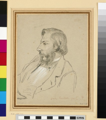 Recto: Portrait of Jules Cardoze<br />Verso: Portrait of the Artist smoking a Pipe