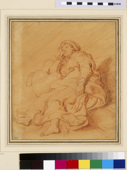 Study of the Figure of Rachel