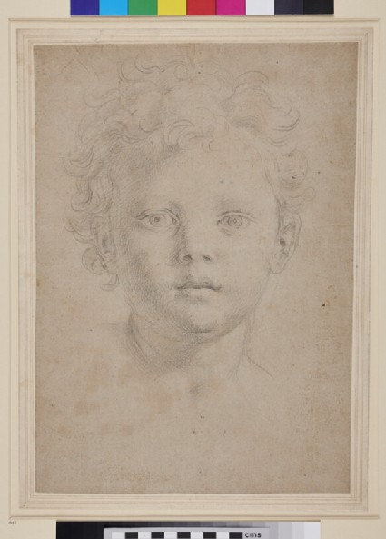 Idealized Head of a Child