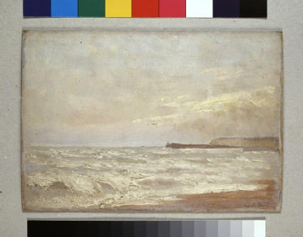 Coast Scene with distant Headland