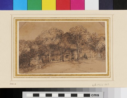 A Cottage amid Trees
