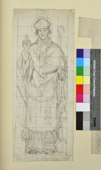 Early English Bishop, possibly St Wilfrid