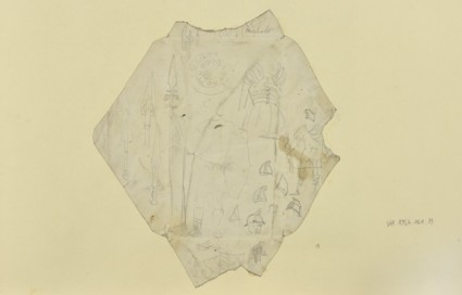 Sketches of Roman Armour, Shields and Spears