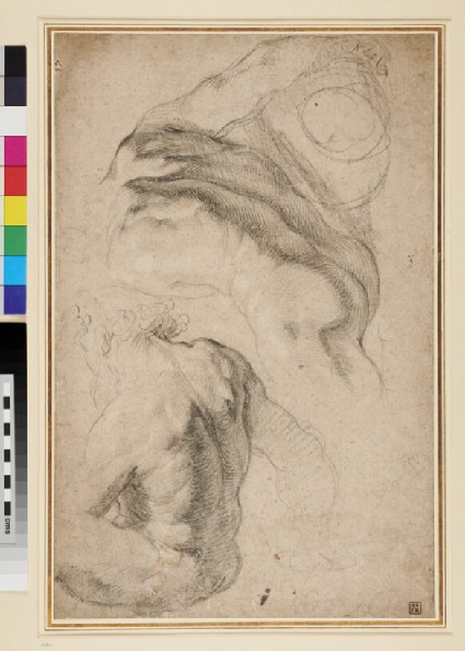 Study of two nude male Figures