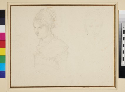 Studies of a young Woman