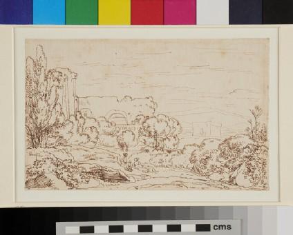 Italianate Landscape with Figures