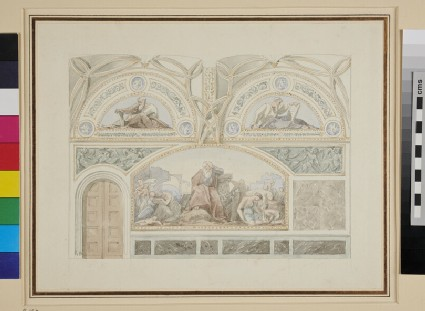 Design for a mural Decoration in the Stadtschloss in Berlin