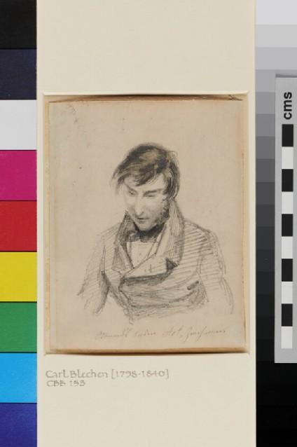 Portrait Study of Carl Blechen