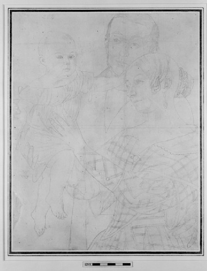 Portraits of a Man, a Woman, and a Child