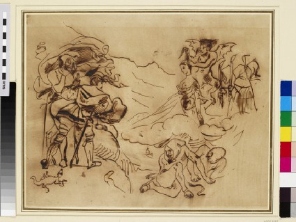 The apparition of Marguerite to Faust