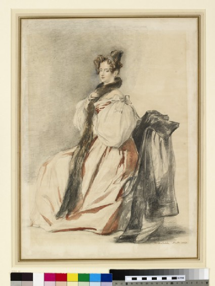 Portrait of the artist's sister Helen, later Mrs William Hunter (1793-1870)