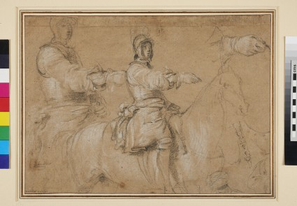 Studies of a Horseman