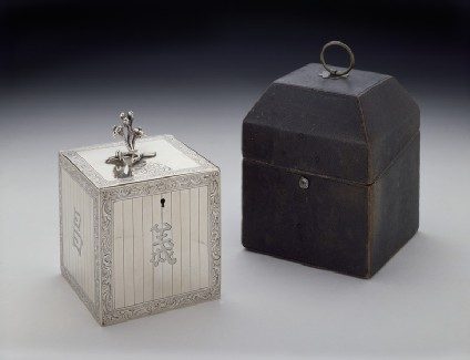 Case for tea caddy