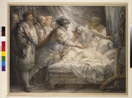 The Death of Leonardo da Vinci in the Arms of Francis I