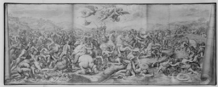 The Battle of Constantine and Maxentius at the Milvian Bridge