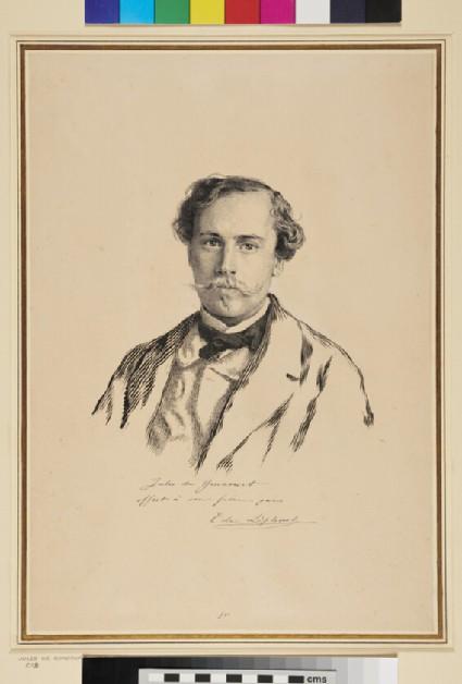 Portrait of Jules de Goncourt
