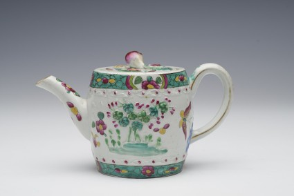 Teapot and lid