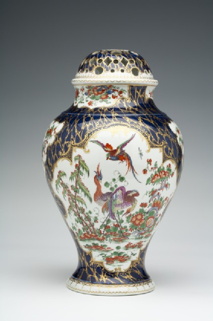 Pot-pourri Vase and cover