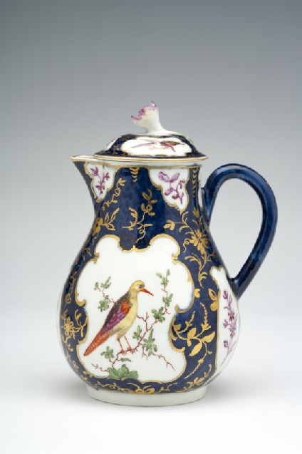 Milk jug with cover