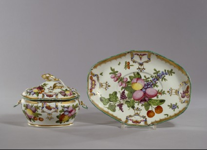 Tureen, cover and stand