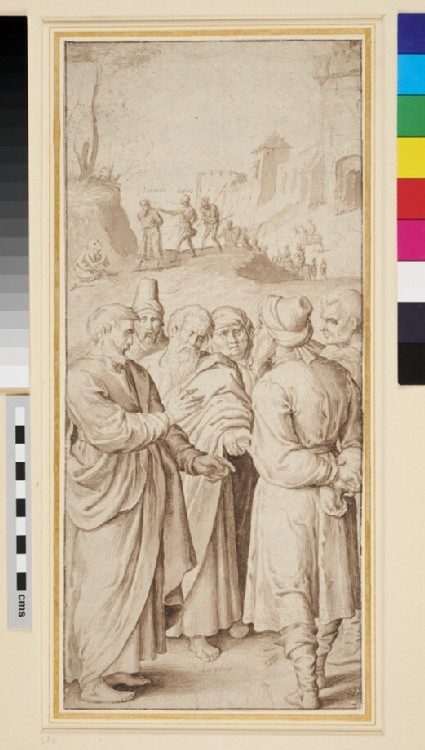 Two Scenes from the Life of St James the Greater