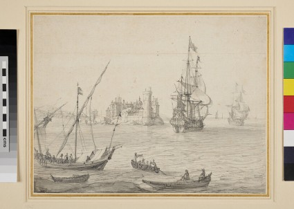 Shipping at the Mouth of a Harbour