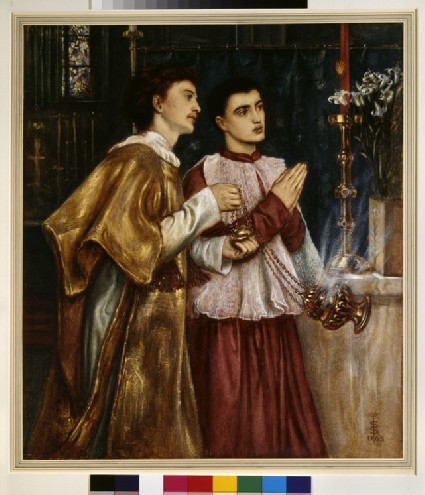 Two Acolytes Censing: Pentecost
