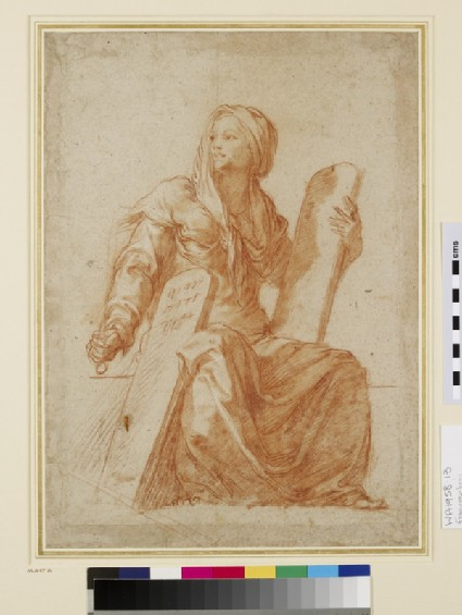 Allegorical Female Figure