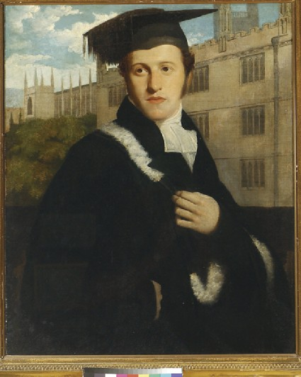 Portrait of an Oxford Undergraduate, perhaps Sir Henry Delves Broughton, Bt