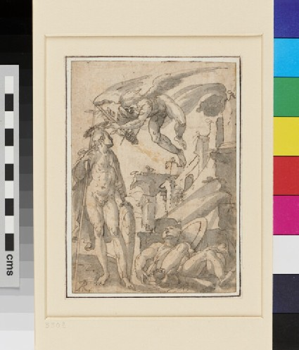 Allegory with three male Figures