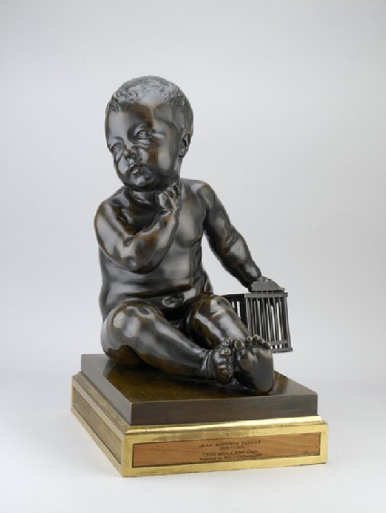 Seated Infant with a Birdcage