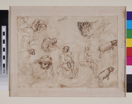 Recto: Family Group