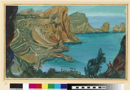 Coastal view, possibly Capri