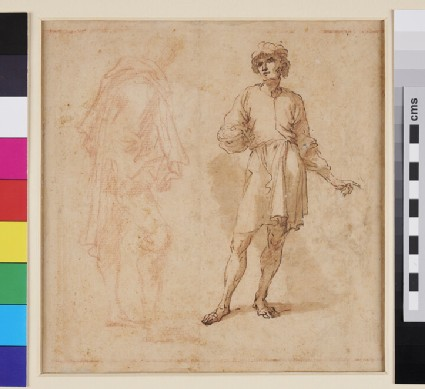Recto: Studies for 'The Philosophers' Grove'