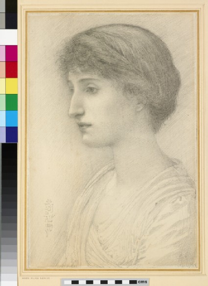 Portrait of Miss Alice Lewis