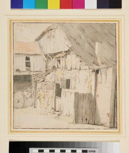 Study of a Farmhouse
