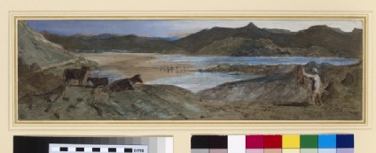 An Estuary with Cattle and a Cowherd