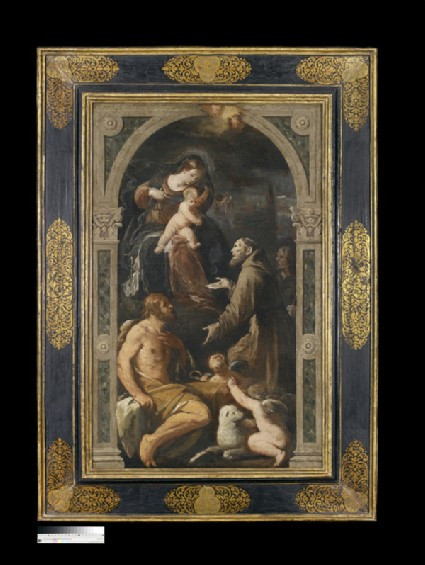 The Virgin and Child with Sts John the Baptist, Francis and James the Great