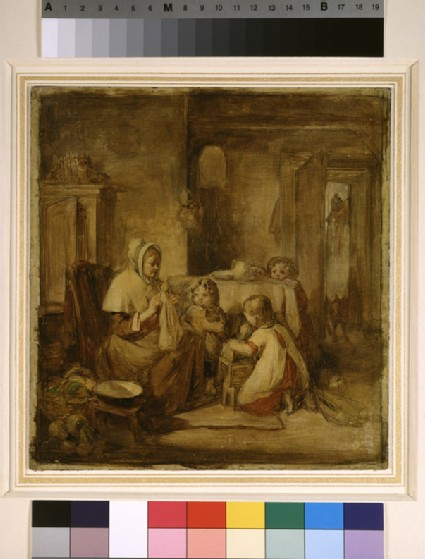 Interior with a Family