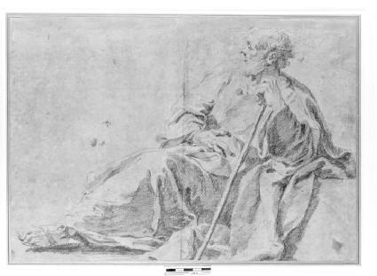 Study for a Figure of St Joseph